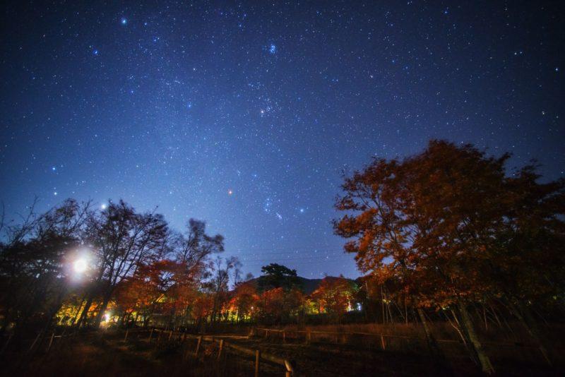 【10月】冬銀河の治部坂高原